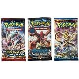 Pokemon Random Booster Cards, Pack of 3