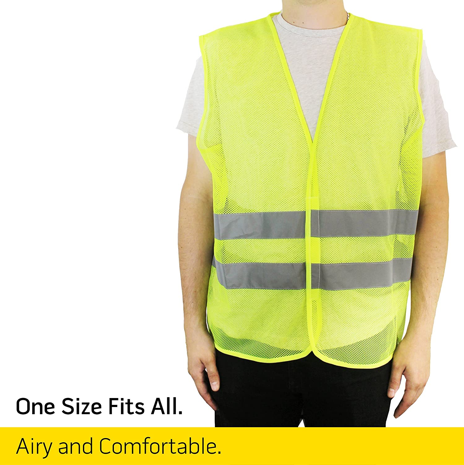 Small Product Image of PeerBasics Reflection High Visibility Safety Vest