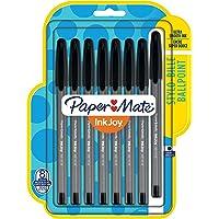 Paper Mate InkJoy 100ST Ballpoint Pens, Medium Point, Black, 8 Pack (1945928)