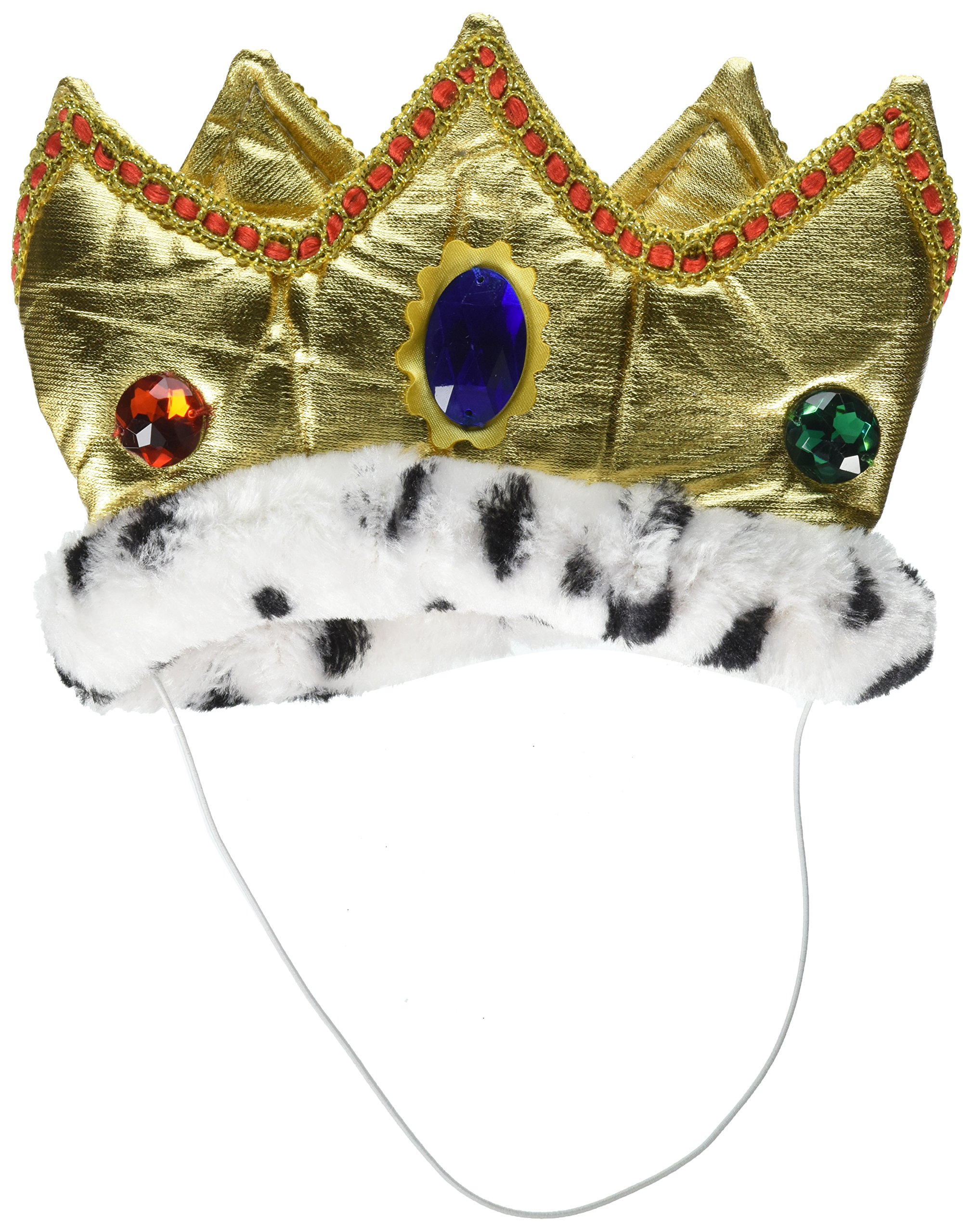 Amscan Party King Gold Crown | Royalty Collection | Party Accessory | 3 Ct.