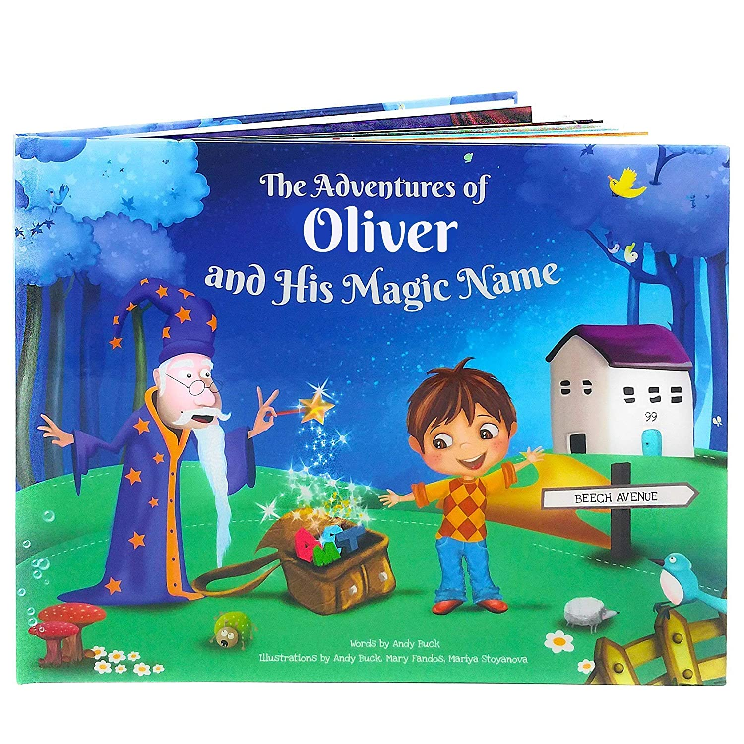 Personalized Children's Story Book - Every Name Creates An Entirely Unique Rhyming Story