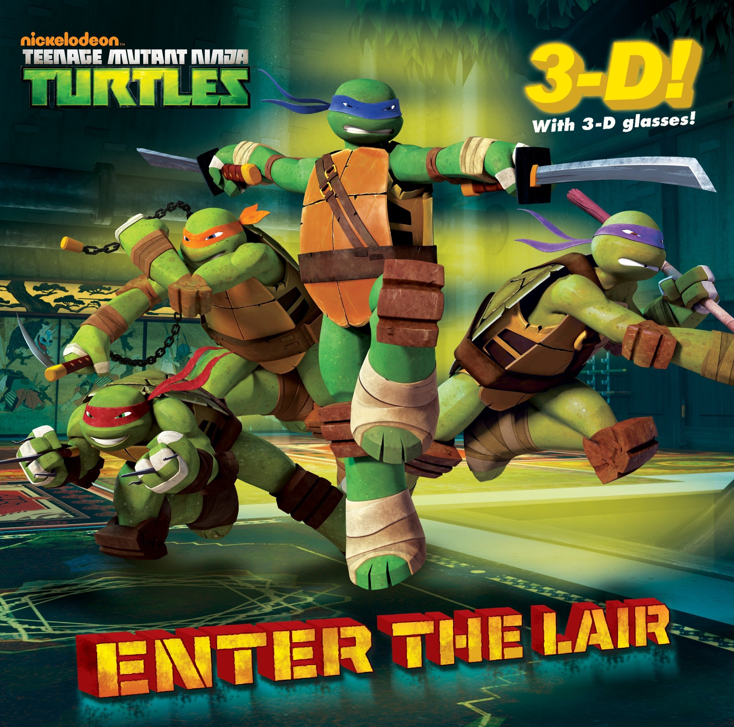 Amazon.com: Enter the Lair (Teenage Mutant Ninja Turtles ...