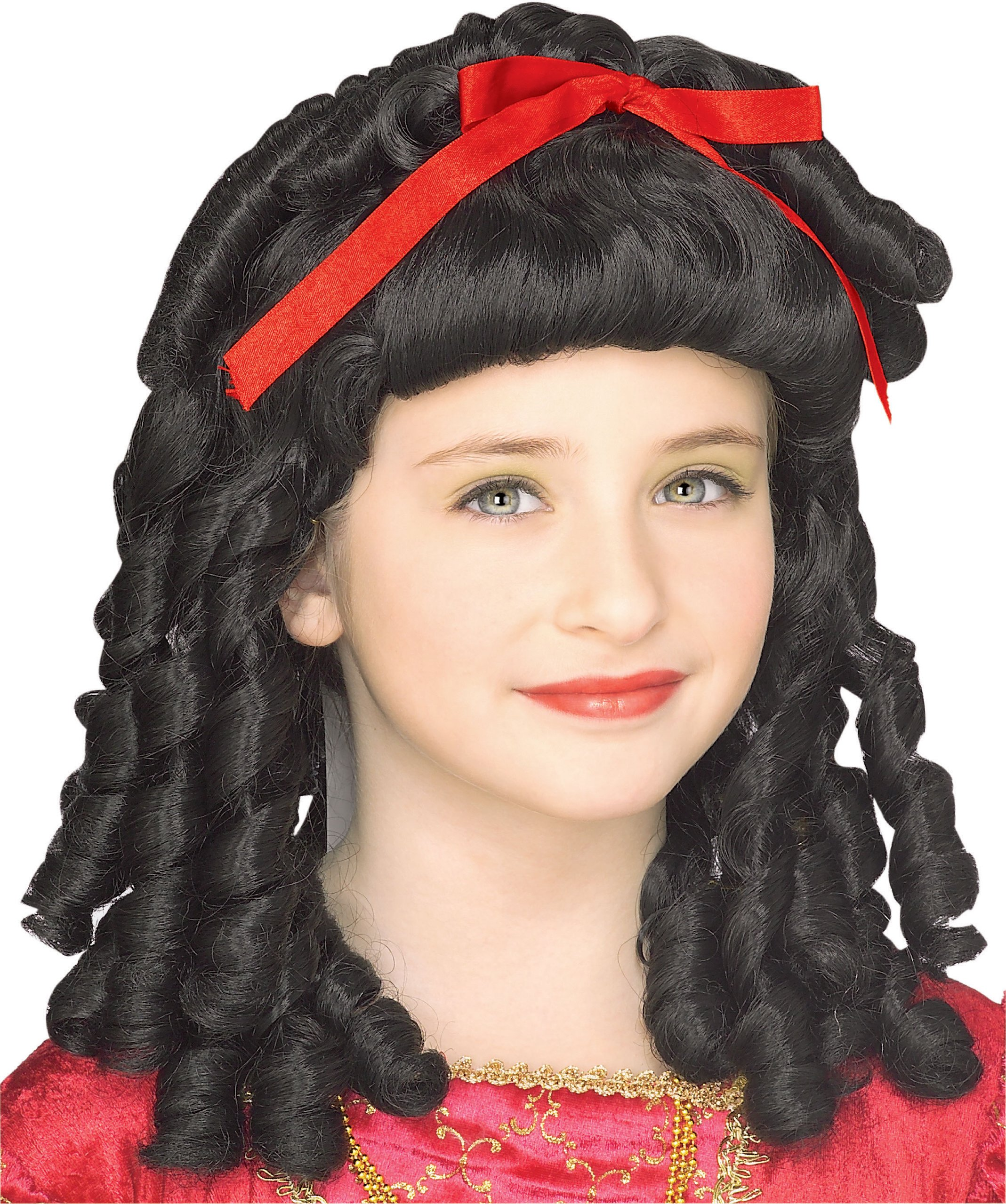 Rubies Storybook Princess Childs Costume Wig, Black Curls product image