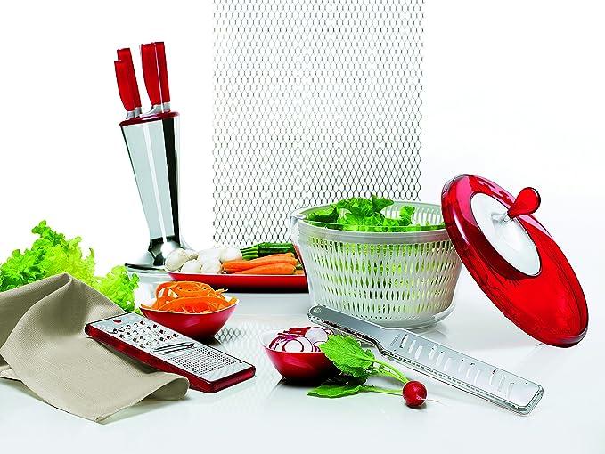 Guzzini 16900093 Centrifuga insalata 28 cm 18 cm Verde My Kitchen