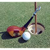 """Vintage Golf Club Bottle Opener. About 7"""" in length. Very heavy duty. Great 5th anniversary (wood) gift for golfer."""