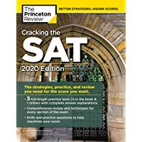 Cracking the SAT with 5 Practice Tests, 2020 Edition: The Strategies, Practice, and Review You Need for the Score You Want