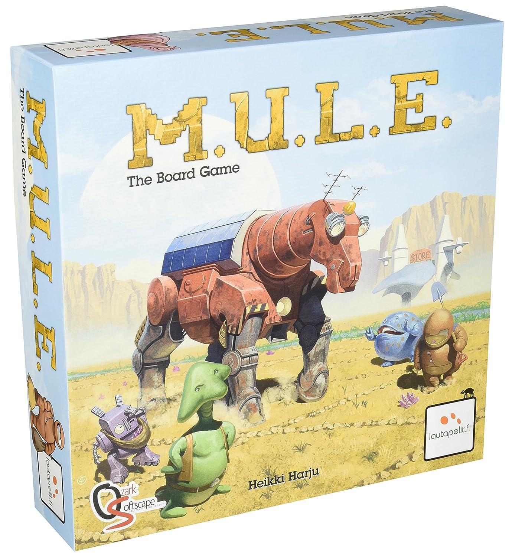 MULE01 PSI M.U.L.E The Board Game Publisher Services Inc