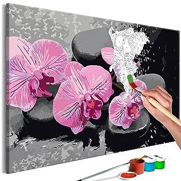 Wellness Oase 50x80 Malen nach Zahlen Schipper 609260681 Orchideen günstig kaufen Mal- & Zeichenmaterialien für Kinder