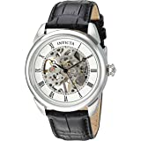 Invicta Men's Specialty Stainless Steel Mechanical-Hand-Wind Watch with Polyurethane Strap