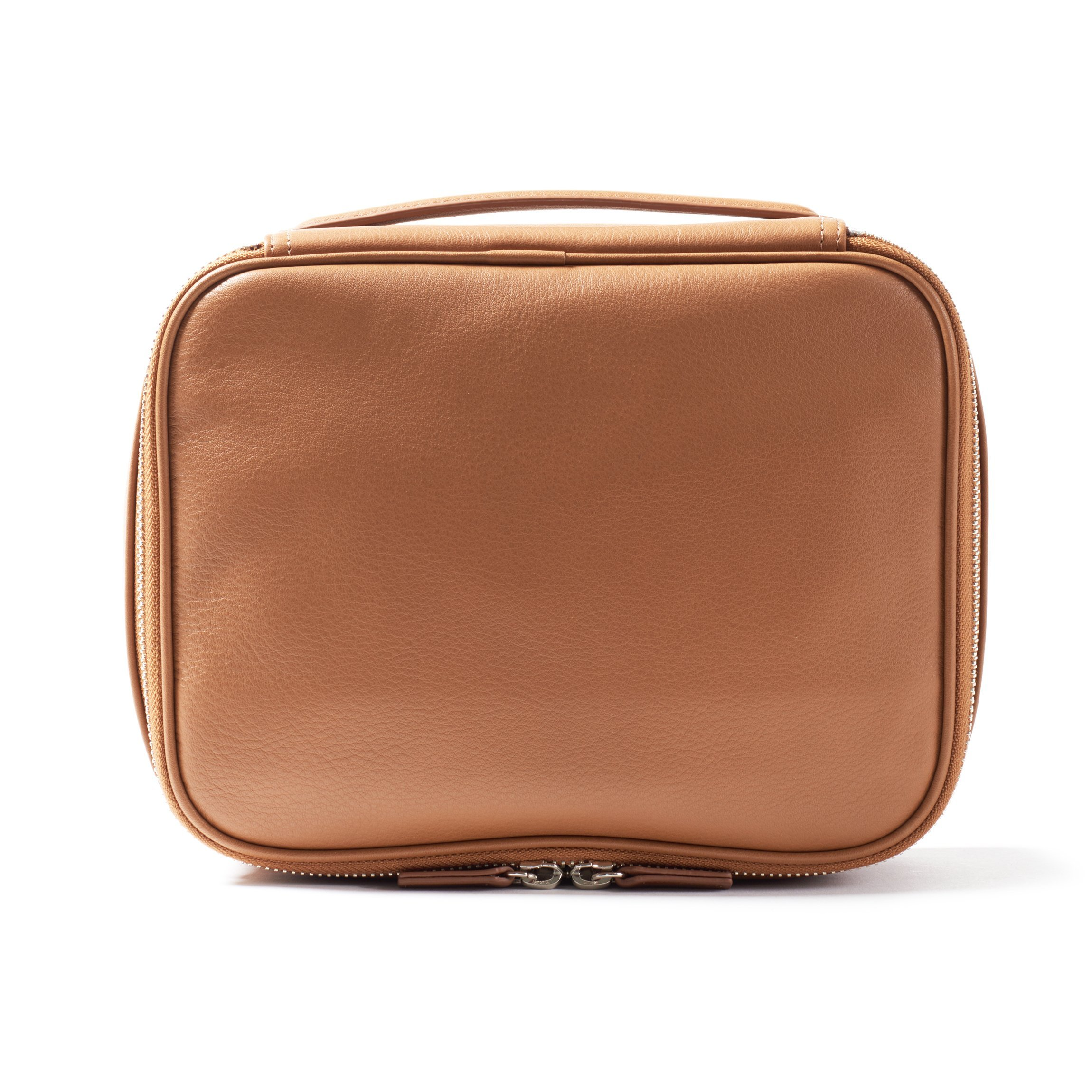 Leatherology Large Travel Organizer - Full Grain Leather Leather - Cognac (brown) by Leatherology