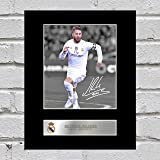 Sergio Ramos Signiert Foto Display Real Madrid FC