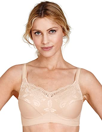 dfb0722dc88 Amazon.com  Miss Mary Of Sweden Mastectomy Soft Cup Bra  Clothing
