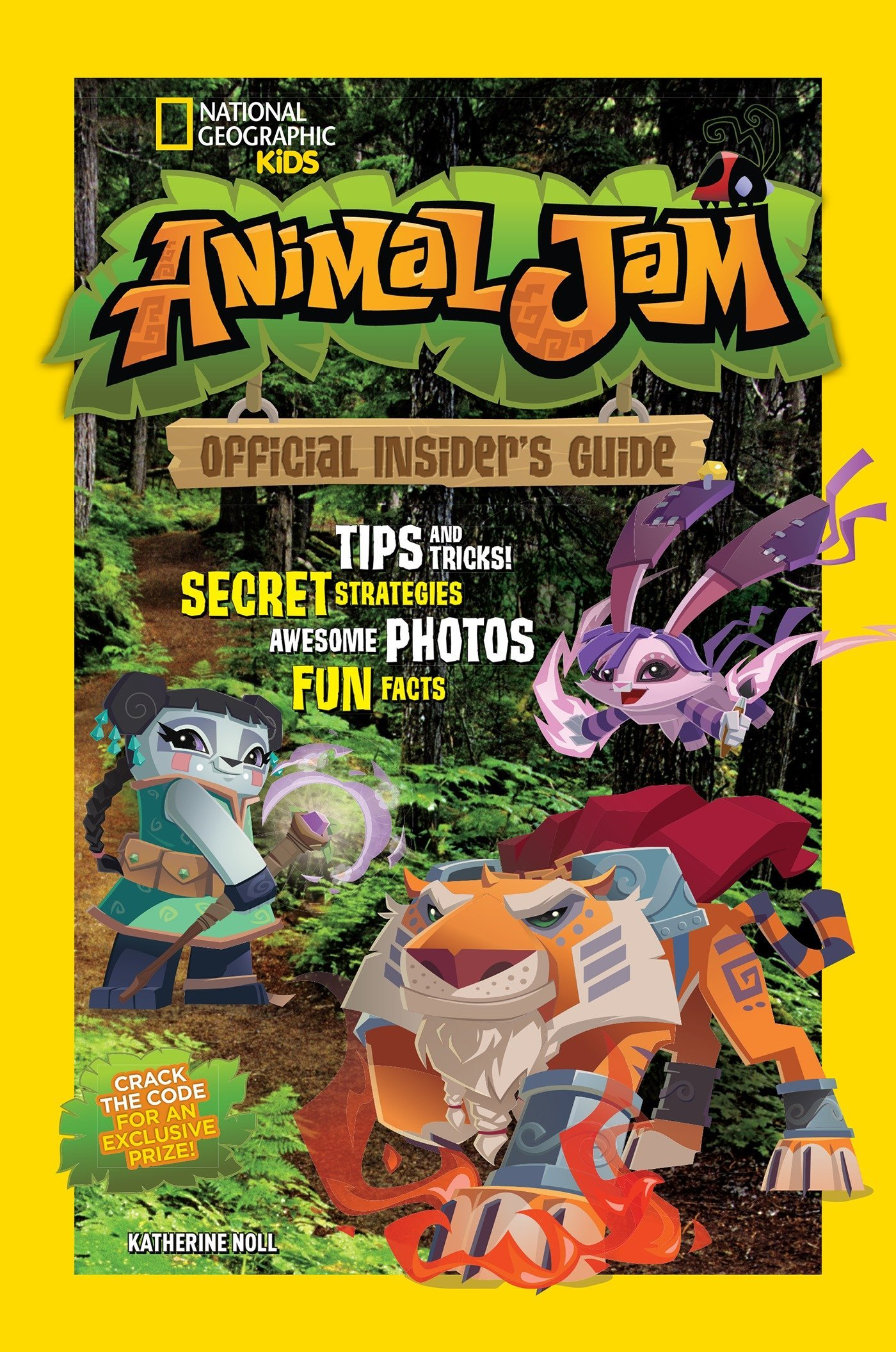 Animal Jam: Official Insider's Guide (National Geographic Kids