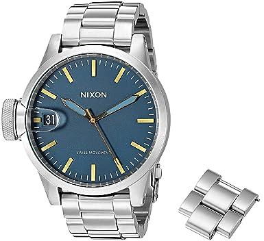 Amazon.com: Nixon De los hombres a4412076 Chronicle 44 ...