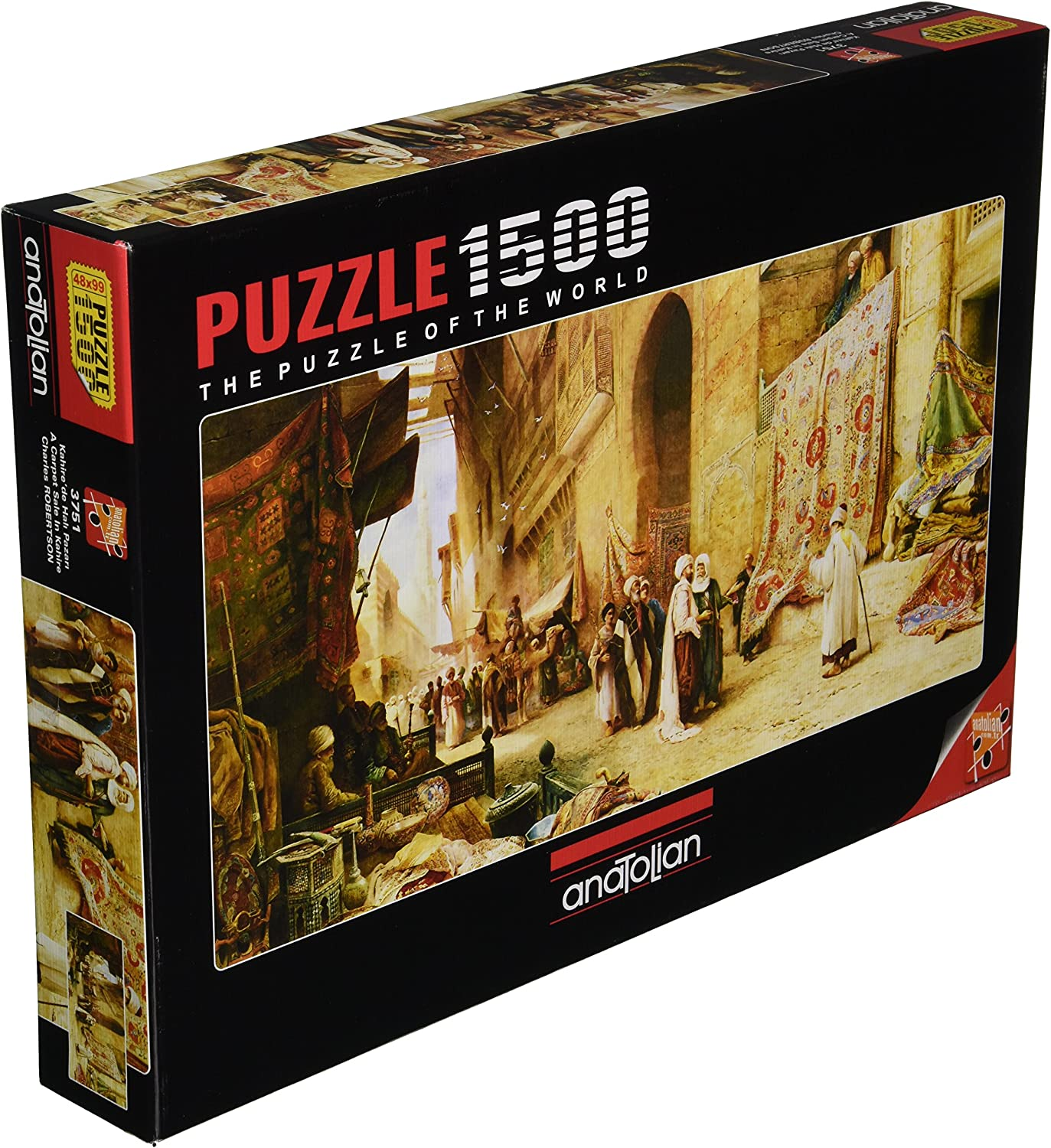 Perre Group Carpet Sale in Cairo Jigsaw Puzzle (1500-Piece)