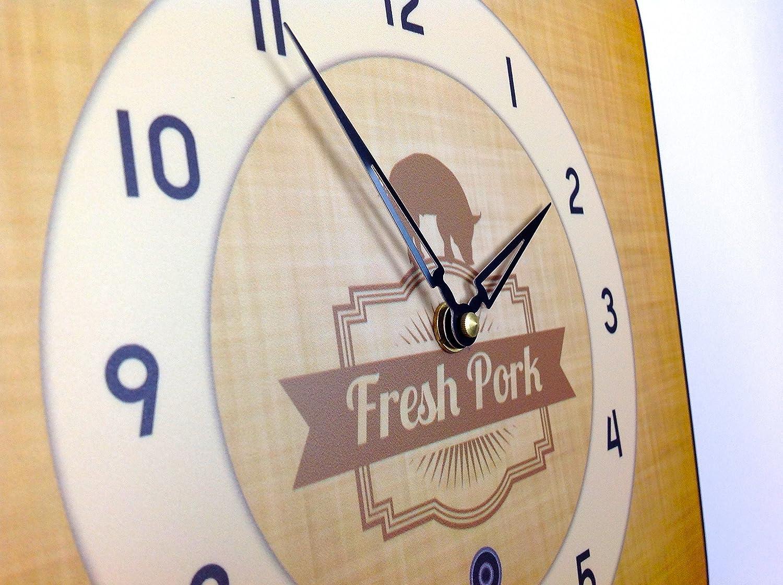 Renard et Simpson Horloge Murale avec Pendule en Bois et Carillon Westminster Chêne Viceni Limited FSSW301