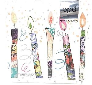 Paperproducts Design Beverage Napkin, 20 CT, Multi