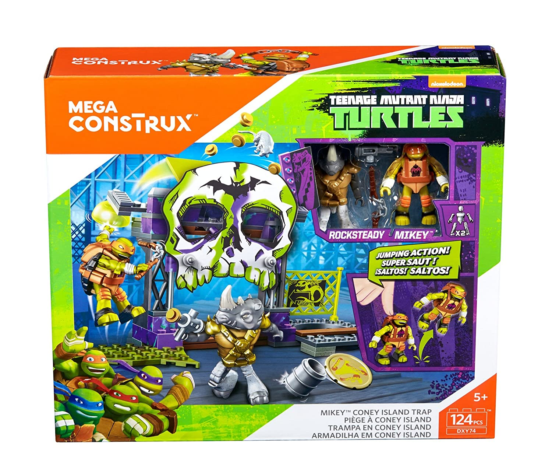 Amazon.com: Mega construx Teenage Muntant las Tortugas Ninja ...