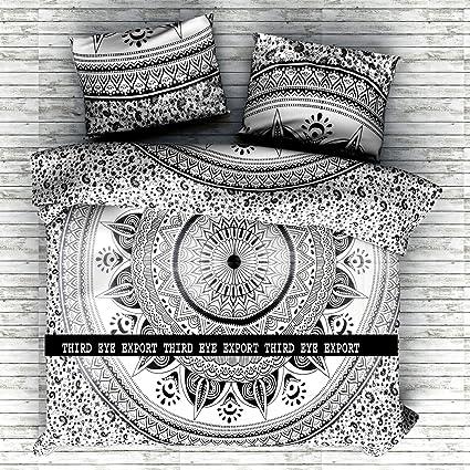Amazon indian medallion duvet coverlet tapestry hippie indian medallion duvet coverlet tapestry hippie mandala bohemian cotton bedding comforter set traditional print mightylinksfo