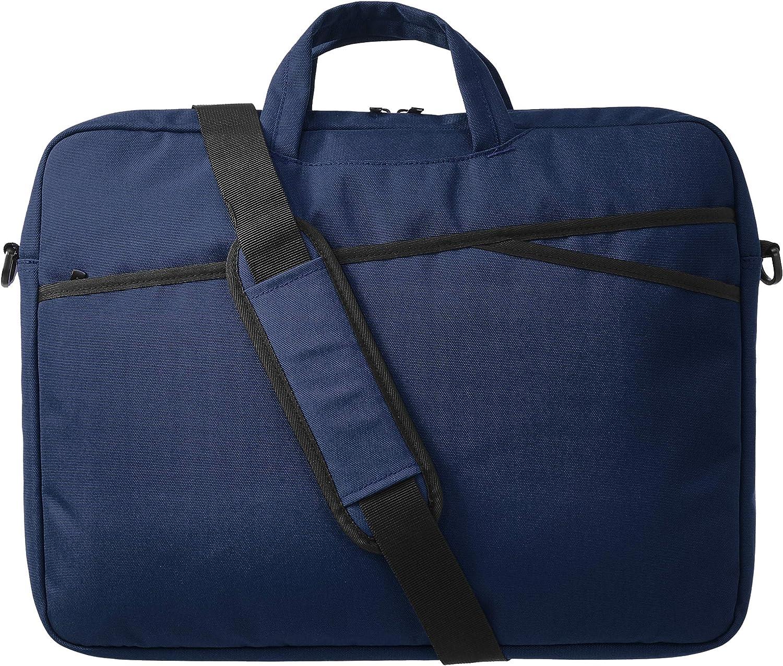 AmazonBasics Business Laptop Case Bag - 17-Inch, Navy