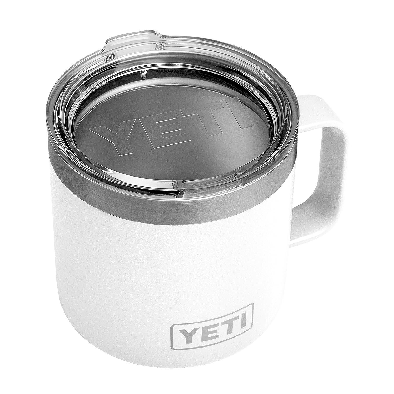 Yeti insulated mug.