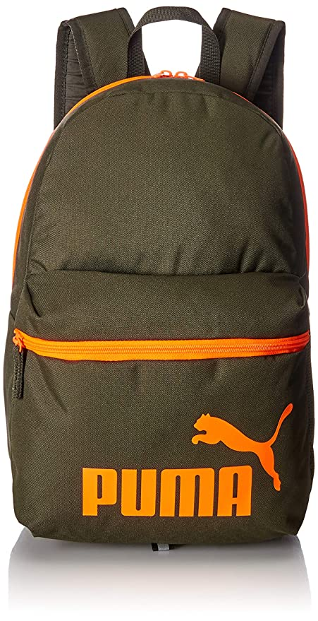 Amazon.com   Puma Phase Backpack Laptop shool sports 758487 05 green ... a7e6d7e50ae09