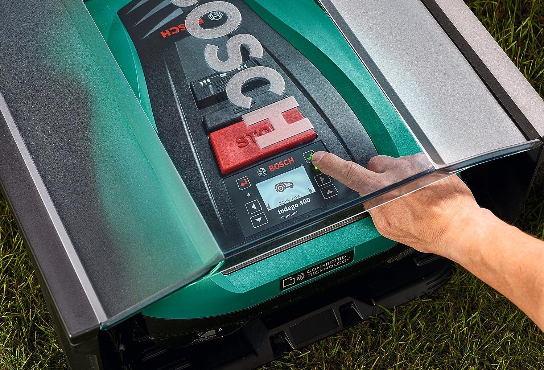 Bosch Indego Garage - Garaje para Robot Cortacésped, 275 x 500 x ...