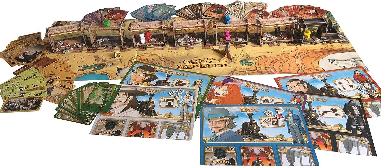 Asmodee – Juegos de Sociedad – Colt Express – GSS Version, lucoex01frn: Amazon.es: Juguetes y juegos