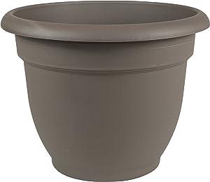 "Bloem Ariana Self Watering Planter, 6"", Peppercorn (AP0660), 6-Inch"