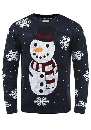 d1a241ac5d8d Shine Original Pingo Herren Weihnachtspullover Winter Pullover  Strickpullover Weihnachtspulli mit Rundhals-Ausschnitt  Amazon.de   Bekleidung