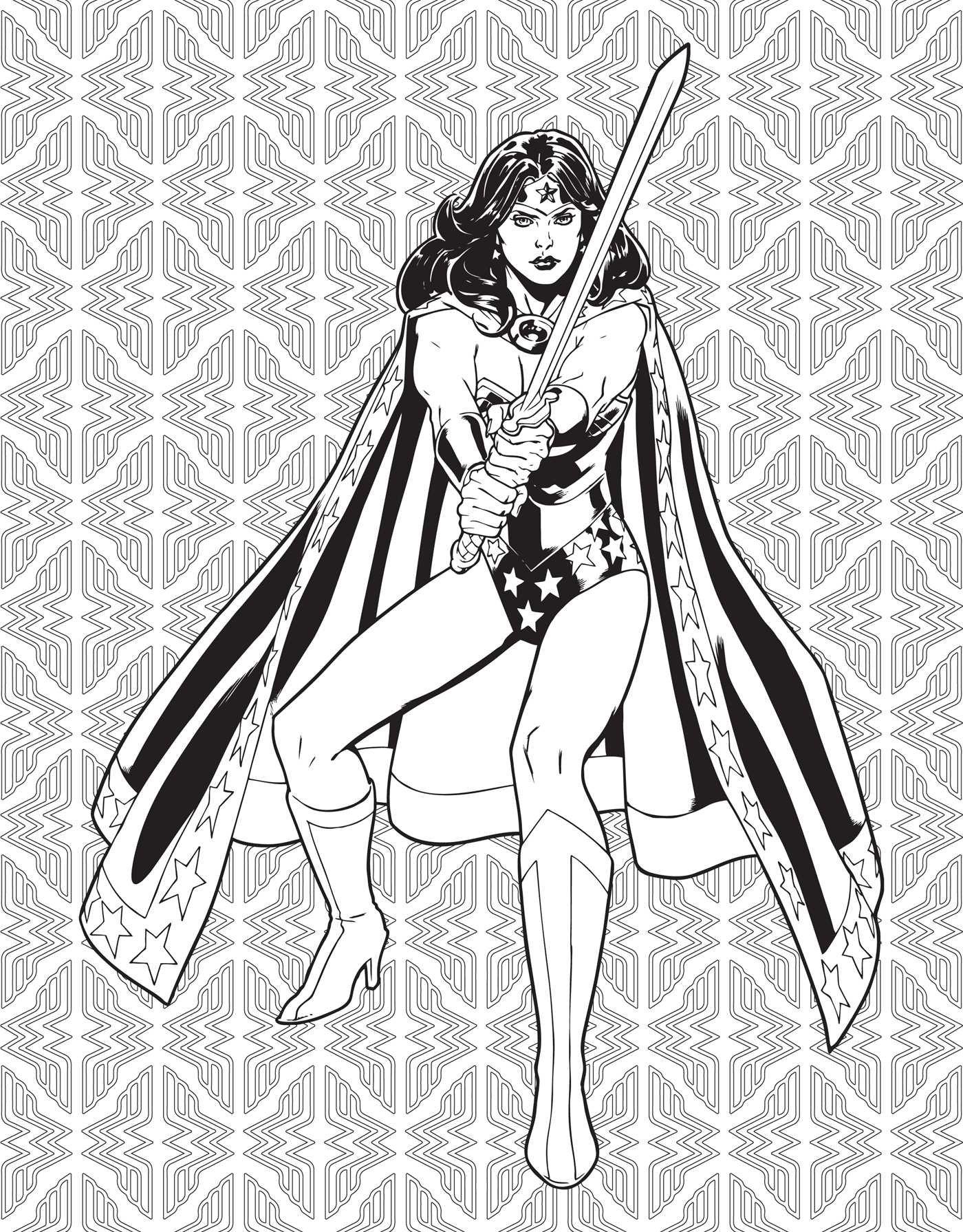amazon com dc comics wonder woman coloring book 9781608878925