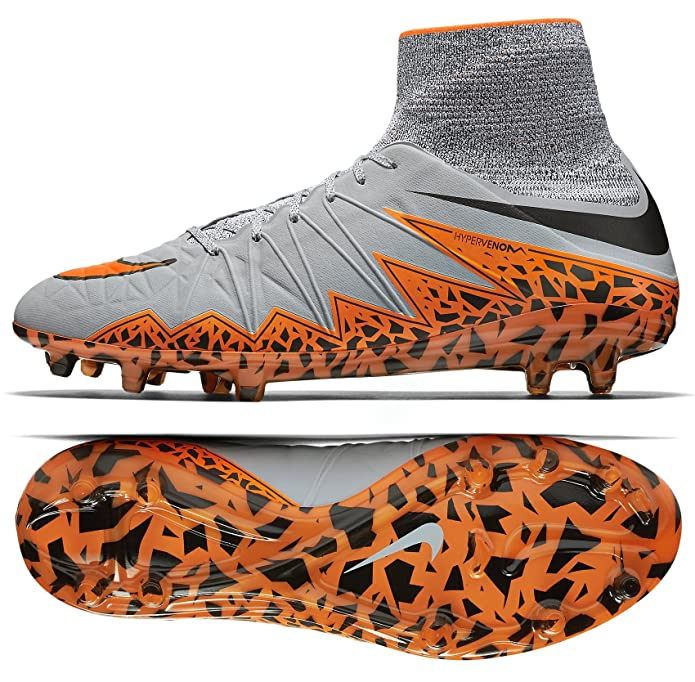 Amazon.com  NIKE Mens Hypervenom Phantom II FG Firm Ground Soccer Cleats 10  US 52ced3393
