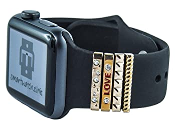 smartwatch. Clinic Charms/joyas - Juego de 4 piezas para ...