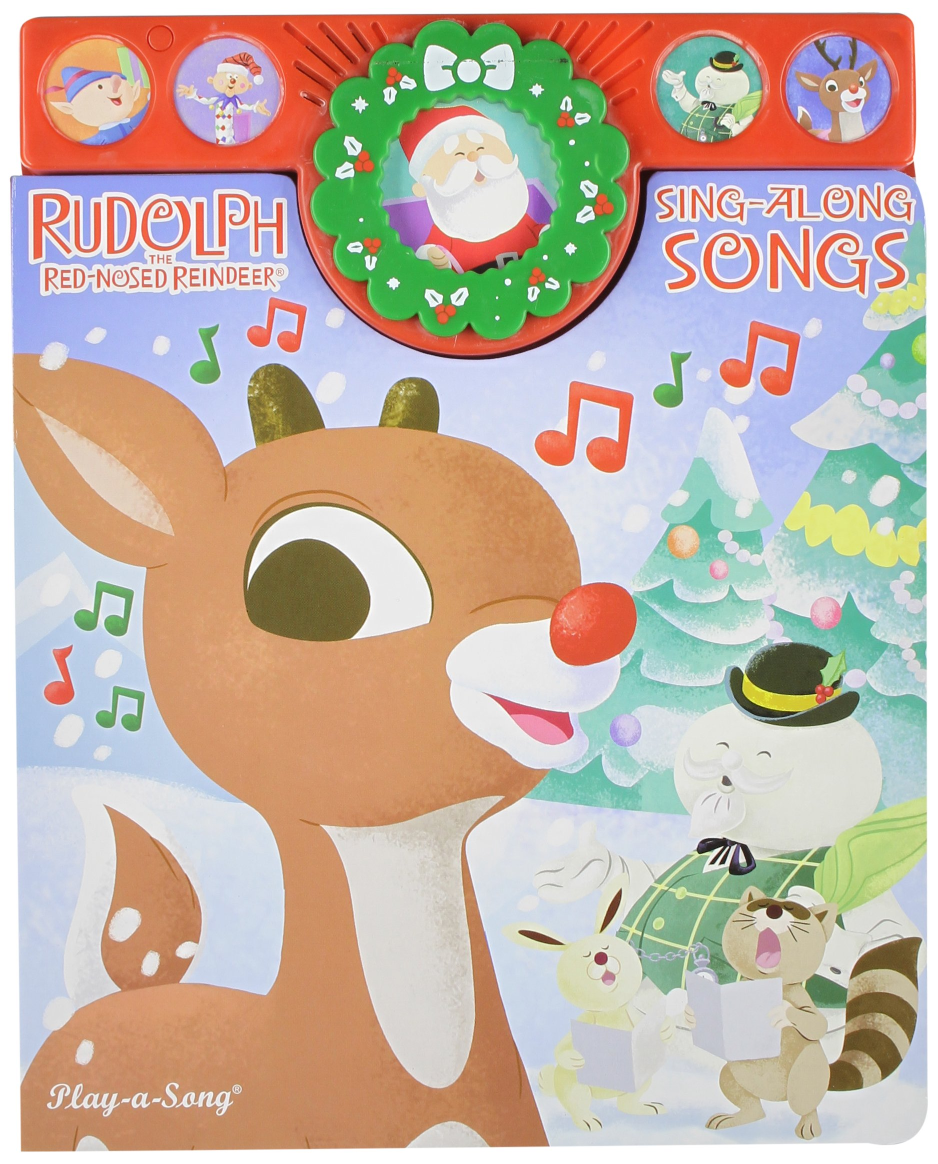 rudolph the red nosed reindeer sing along christmas songs editors of publications international 9781412745550 amazoncom books - Christmas Songs Rudolph The Red Nosed Reindeer