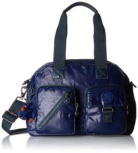 7d519b6af Kipling Defea, Bolso de Hombro Mujer, Azul (Lacquer Indigo), 33x24.5x19 cm:  Amazon.es: Zapatos y complementos