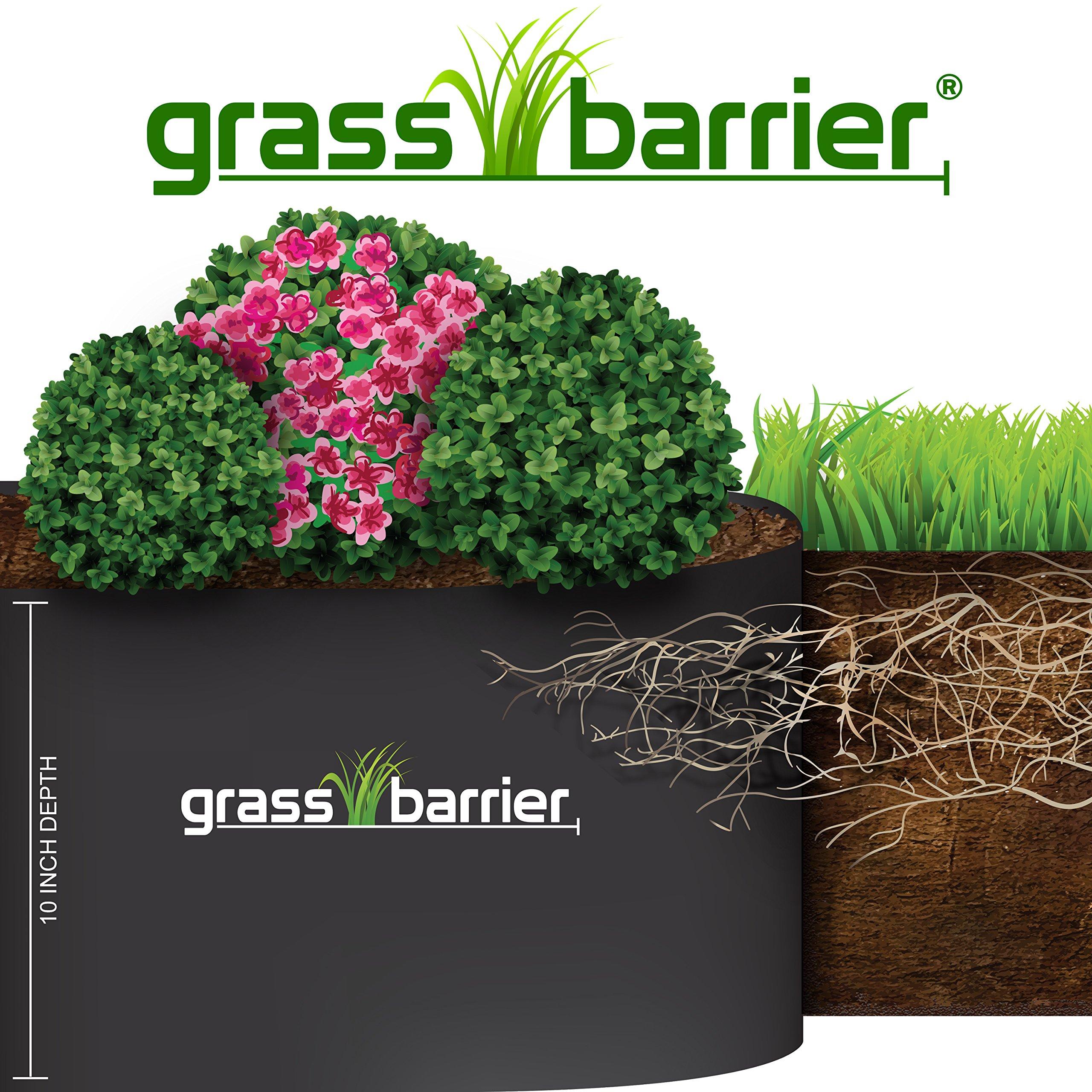 Grass Barrier - Landscape Edging - 10'' inch depth - (20 feet)