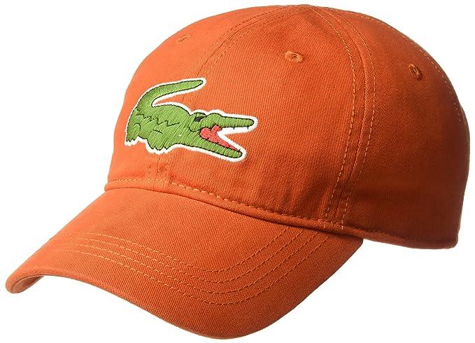 c4a49e9155e Lacoste Men s Big Croc Gabardine Cap  Amazon.in  Clothing   Accessories