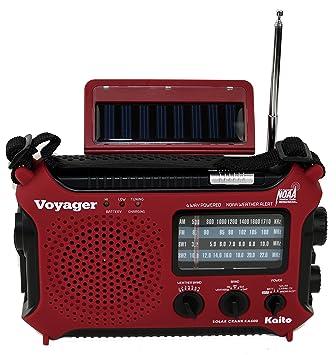 Amazon.com: Radio de alerta meteorológica Kaito KA500 ...