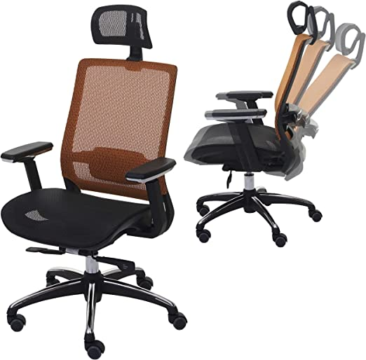 Mendler Bürostuhl HWC A20, Schreibtischstuhl, ergonomisch