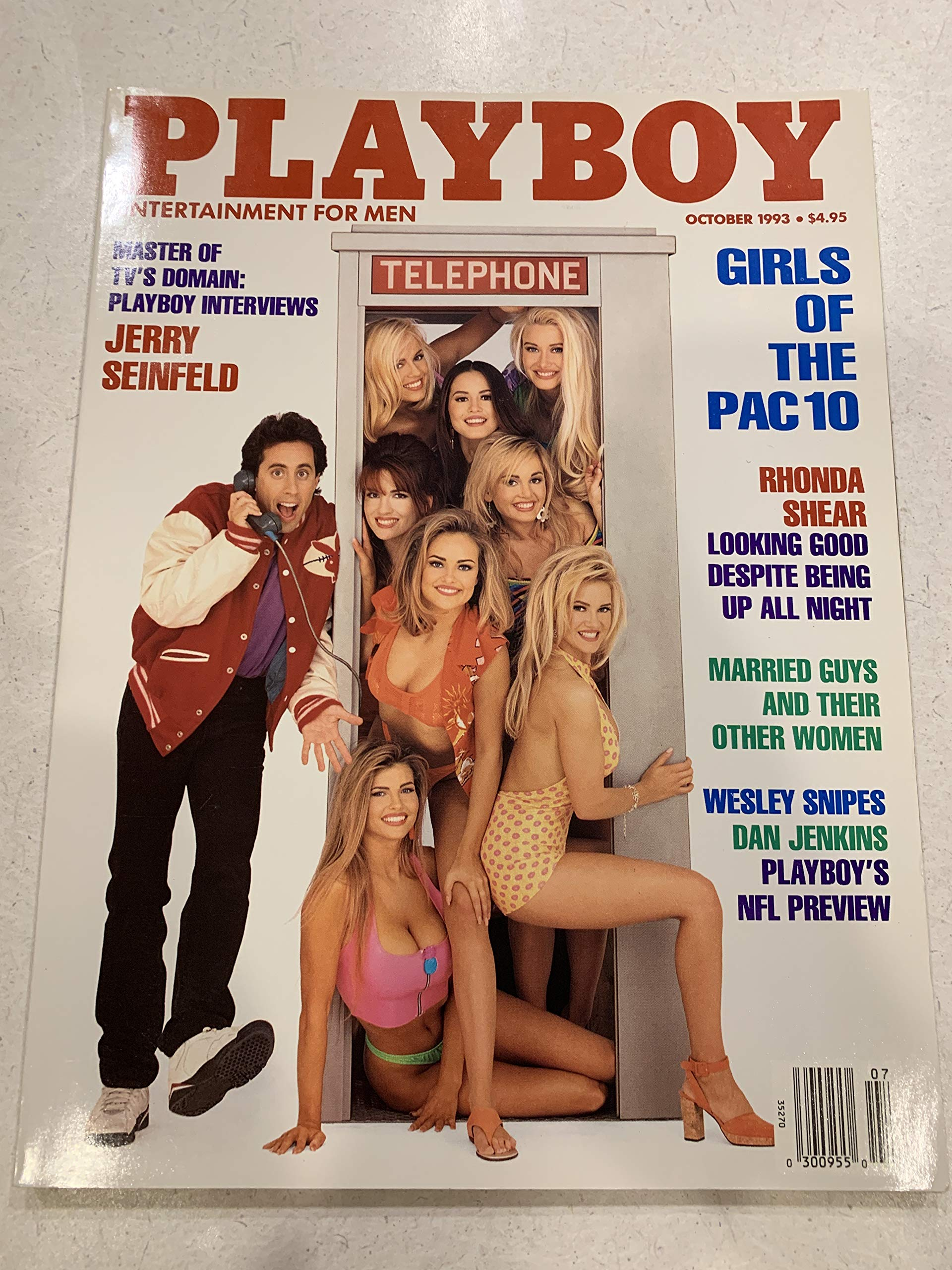Playboy Magazine October 1993 - Jerry Seinfeld Single Issue Magazine