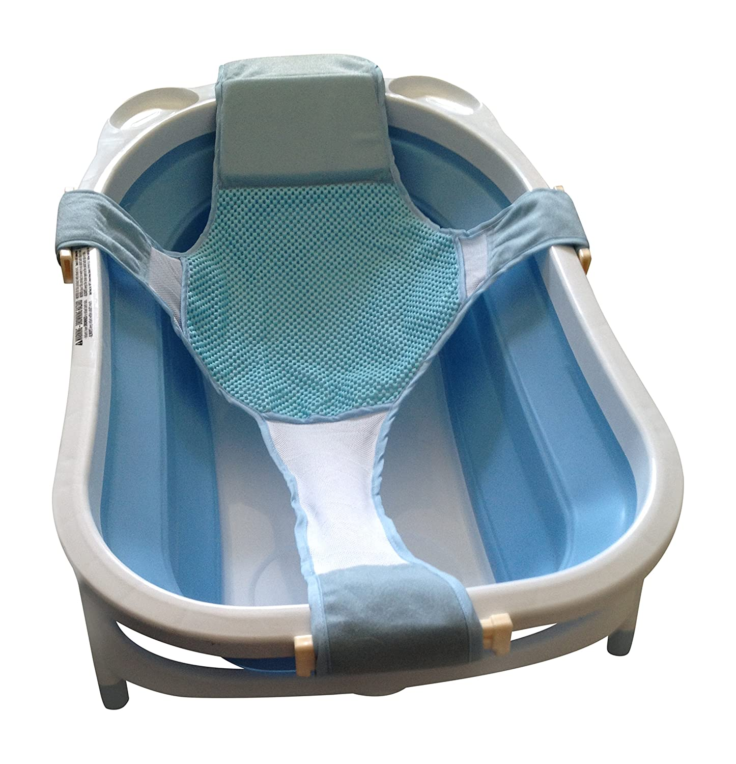 Amazon.com : Baby Bathtub Seat Support Sling Net Karibu Aojia Infant ...