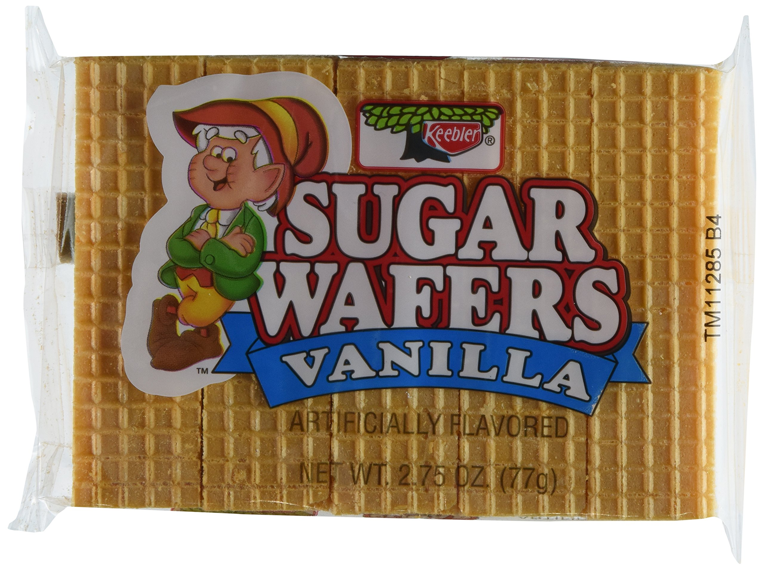 Keebler Sugar Wafer Vanilla, 2.75-Ounce Packages (Pack of 12) by Keebler