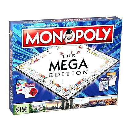 Amazon.com: Monopoly – Mega Monopoly: Toys & Games