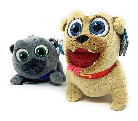 Amazon Com Puppy Dog Pals Plush Bingo And Rolly Stuffed Toy Set