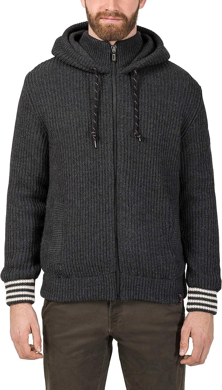 Timezone College Hoodie Jacket Chaqueta Punto para Hombre