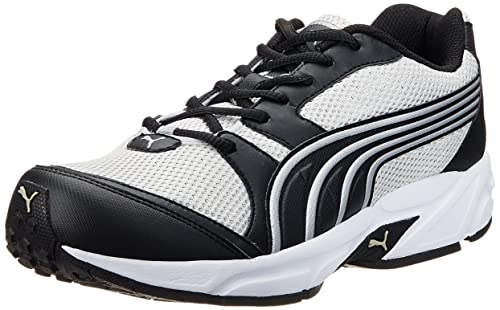 588084fa90f6 Puma Men s Neptune DP Moonstruck-Black-White Running Shoes - 7 UK India
