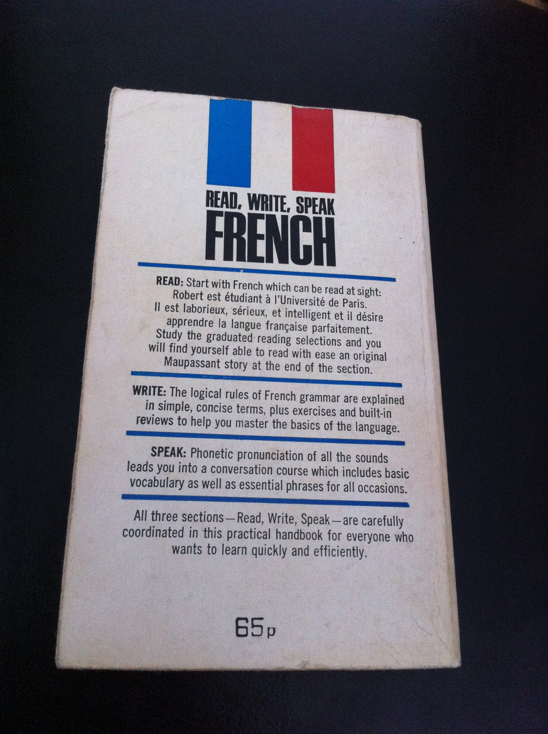 learning french for beginners