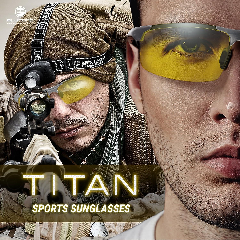 Blupond Semi Polarized Titan Sunglasses