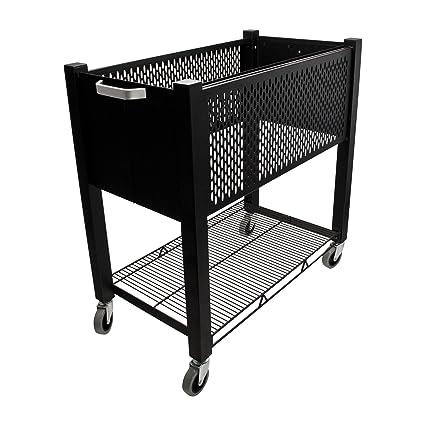 Amazon com : Vertiflex Products InstaCart Open-Top File Cart