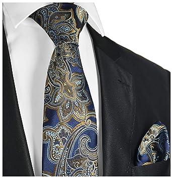 2a6c0ef488c5 Amazon.com: Paisley Men's Tie and Pocket Square Sets: Clothing